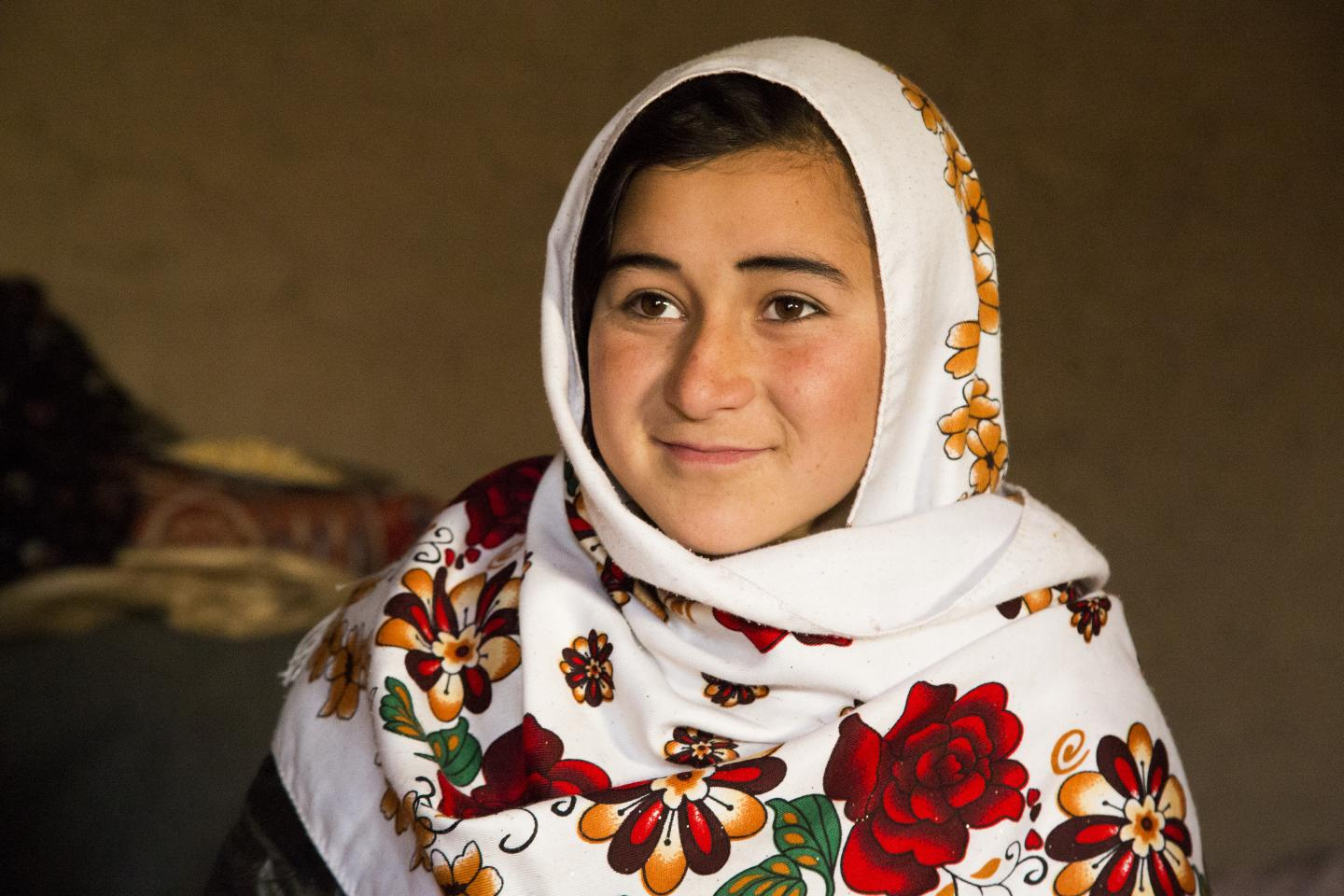 An IDP Girl in West Afghanistan