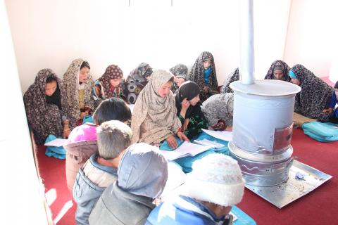 Students at an Accelerated Learning Centre