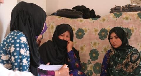 Community health workers in Norther Region, Afghanistan