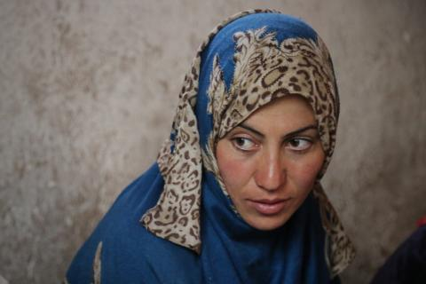 Simagul, 30, was on a personal mission to campaign for the establishment of a girls' school in her village of Dokani in Bamyan province.