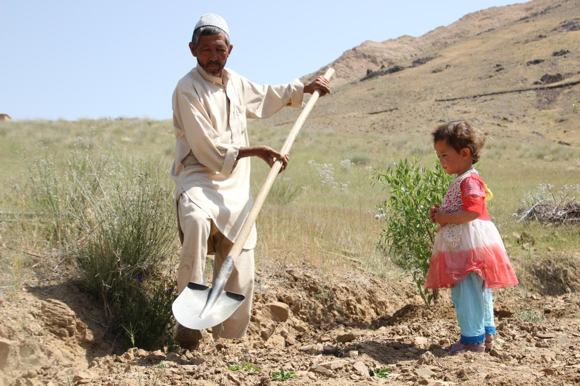 Khair Mohammad, 55, a farmer and farther of seven children