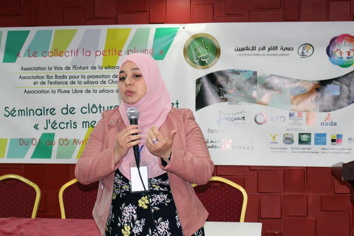 Zineb Ayadi : La Fédératrice, Présidente de l'Association la voix de Béjaïa