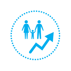 UNICEF Icon for population growth