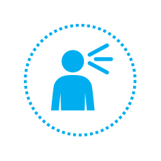 UNICEF icon for Communication