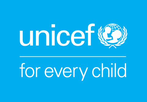UNICEF logo with tagline