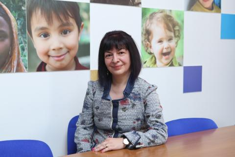 Liana Hovakimyan-UNICEF Health and Nutrition Specialist