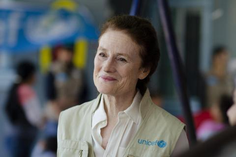 Henrietta Fore in unicef west.