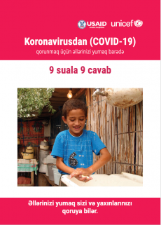 Cover page of the booklet on everything you need to know about hand-washing.
