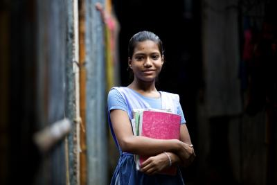 Fourth grade student in Dhaka