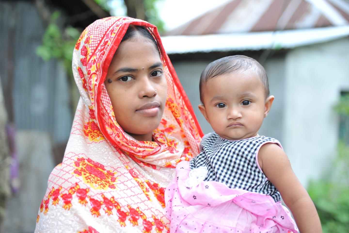 Rokeya Khatun was left with little hope when her newborn did not breathe normally for what seemed like two hours.