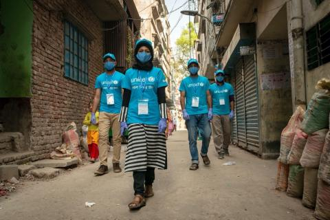Bangladesh. UNICEF Volunteers