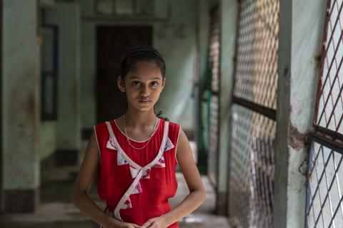 A Bangladeshi child.