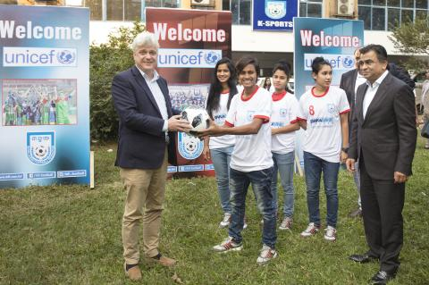 UNICEF and Bangladesh Football Federation