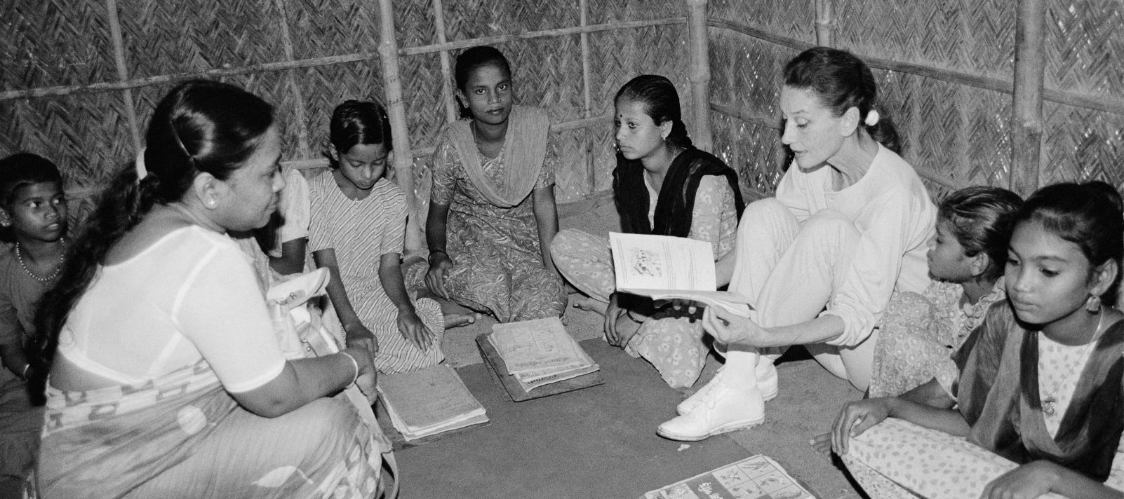 UNICEF has been working in Bangladesh since 1952