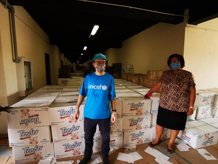 UNICEF scales up support to Belize Ministry of Education's School Feeding Program during Covid 19 pandemic