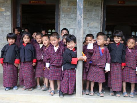Aspiring happiness for every child in Bhutan