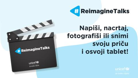 Re-Imagine toughts 4 ReImagine Talks: Napiši, nacrtaj, fotografiši ili snimi svoju priču i osvoji tablet!