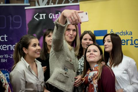 "Otvoren trodnevni ""IT Girls i European Youth Award Impact Weekend"""