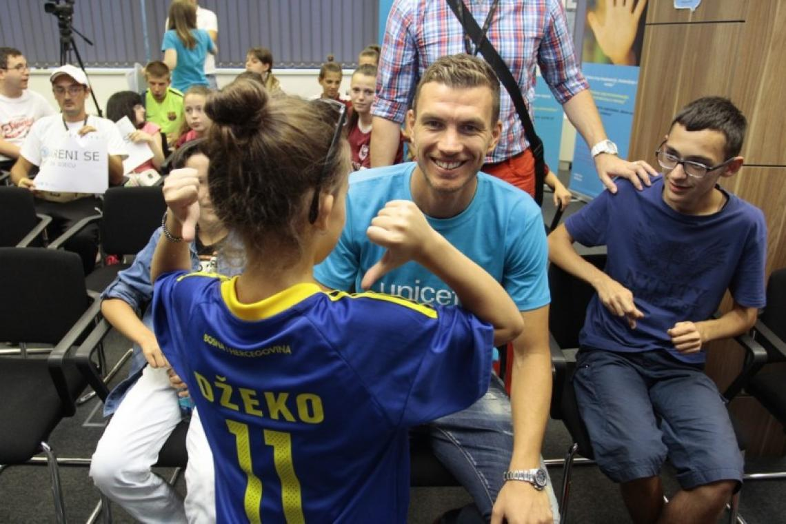 Edin Dzeko, Team UNICEF