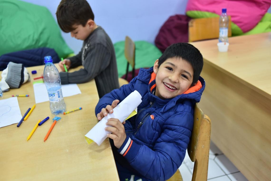 devetogodišnji Ali-Saira nastavlja sa školovanjem u Bosni i Hercegovini.