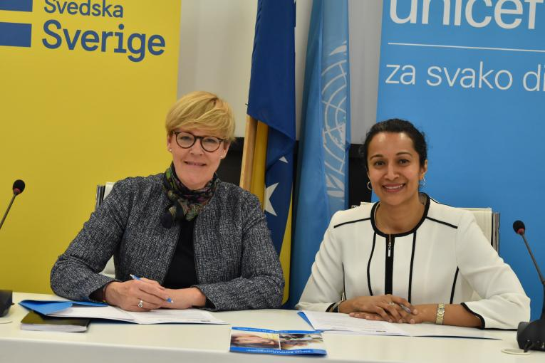 Sweden and UNICEF Partnership