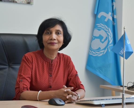 UNICEF Representative in Bosnia and Herzegovina Rownak Khan