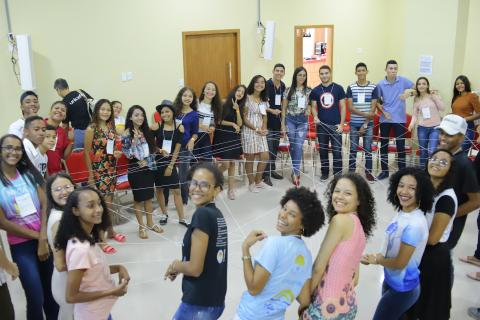 Encontro de adolescentes do Selo
