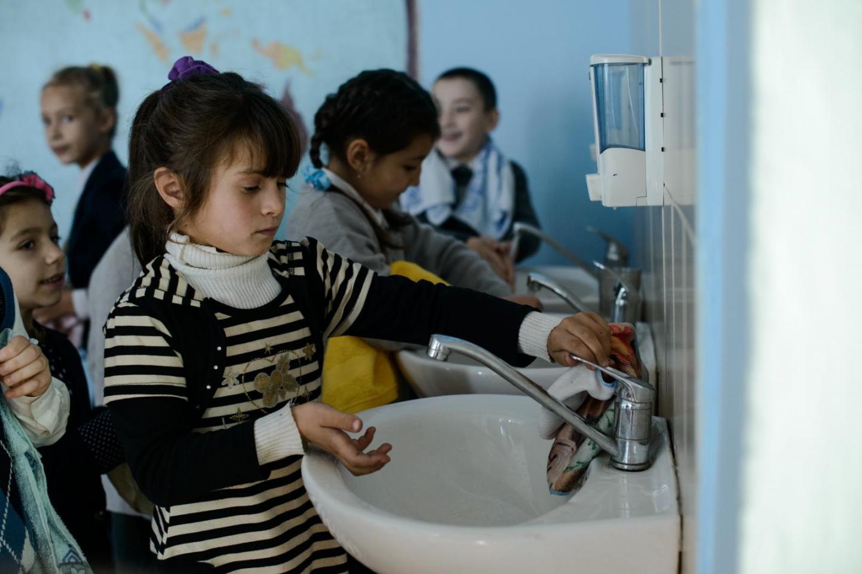 coronavirus tap water