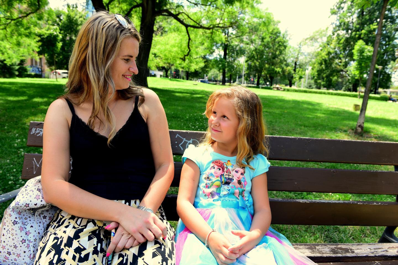 Ема и майка ѝ Силвия