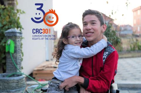Convention on the rights of the child marks 30th anniversary