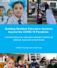 Cover page of Building Resilient Education Systems beyond the COVID-19 Pandemic