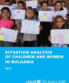 The cover image of Situation analysis of children and women in Bulgaria cover