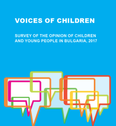 Cover image of the Voices of children survey