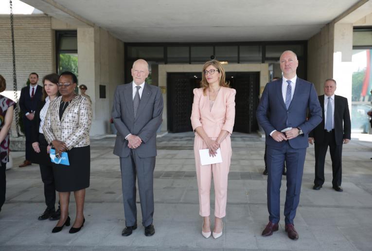 Официално обръщение от д-р Джейн Муита, представител на УНИЦЕФ в България