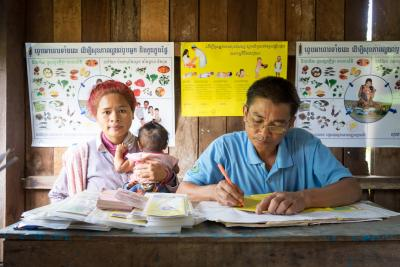 Birth registration in Cambodia