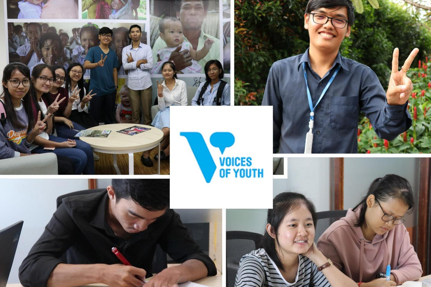 Voices of Youth Applications Open | UNICEF Cambodia