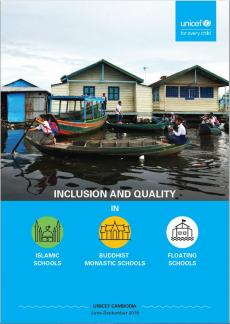 Inclusive and Quality in three schools report cover