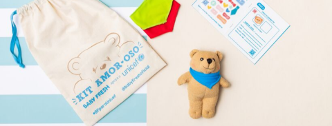 Kit amor-oso de UNICEF y Baby Fresh