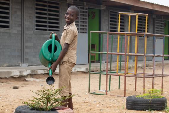 Green Schools Unicef Cote D Ivoire