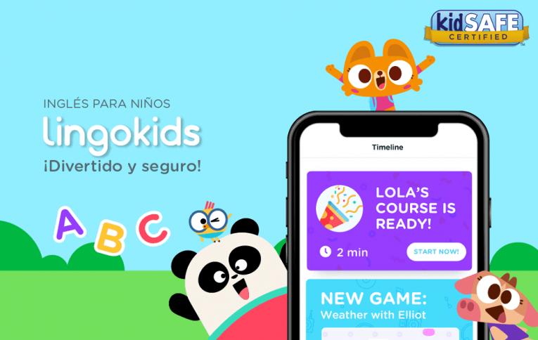 Tres meses de acceso gratuito a plataforma para aprendizaje de inglés para  niños y niñas