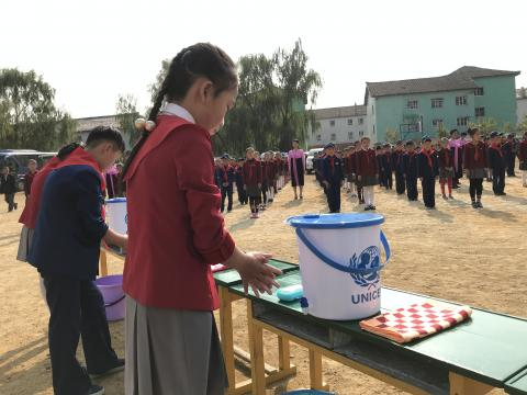 handwashing in DRPK