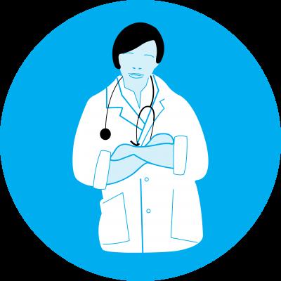 Consulter un médecin sans tarder en cas de fièvre, de toux et de difficultés respiratoires