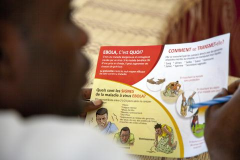 Ebola prevention messages