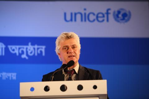 Edouard Beigbeder is the UNICEF Representative in the Democratic Republic of Congo