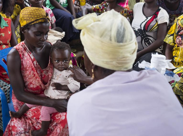 Measles vaccination in DRC