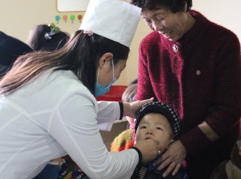 Child health day in DPRK