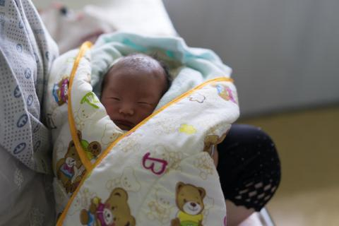 Newborn in N. Korea