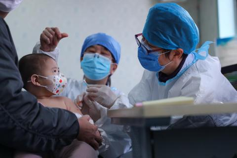 China child vaccination