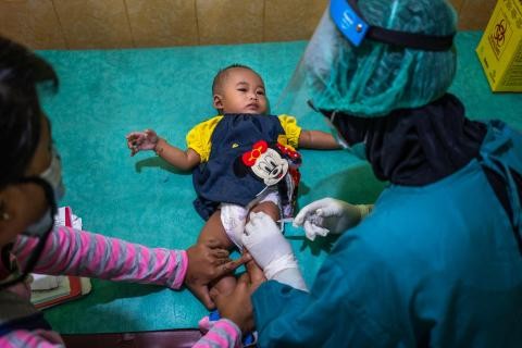 Vaccination in Indonesia