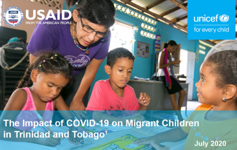 COVID19 and migrant children in Trinidad and Tobago